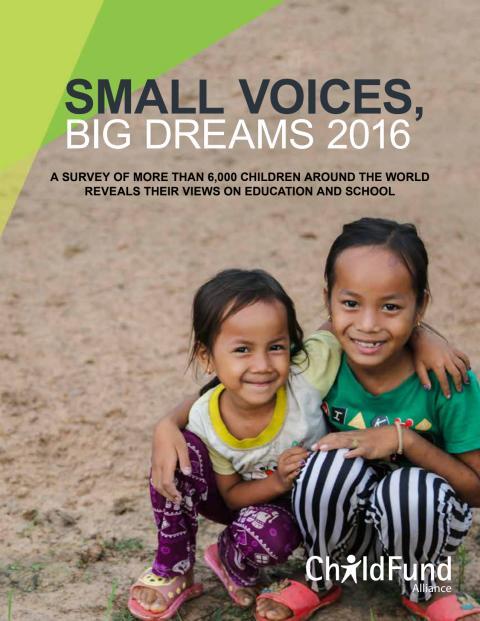 Komplett rapport Small Voices Big Dreams 2016