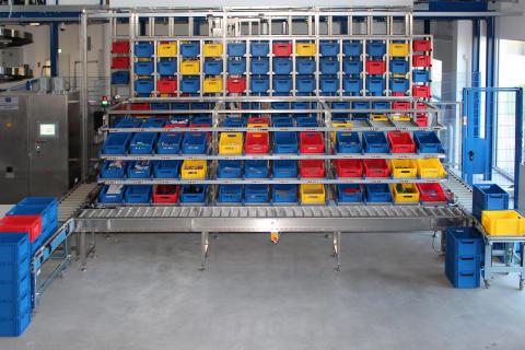 """Eröffnung des Intralogistiklabors mit der ersten """"Wildauer LogistikWerkstatt"""""""