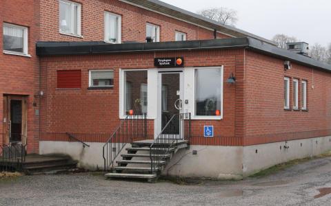 Pressinbjudan till invigning av Bergslagens Sparbanks nya kontor i Guldsmedshyttan