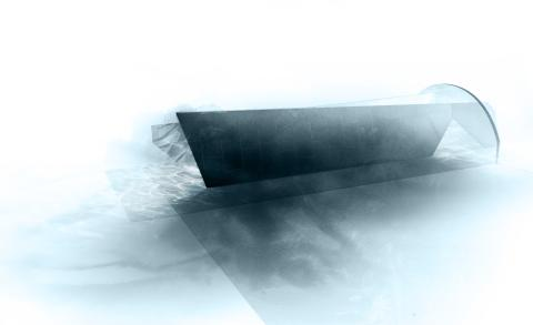 Raytrace av Benjamin Hubert från LAYER för Dekton®