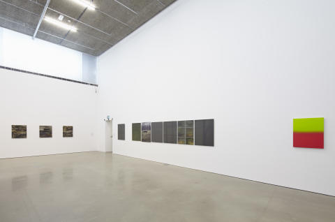 Andreas Eriksson, Runt omkring 2014, utställningsvy/Andreas Eriksson, Roundabouts, exhibitionview