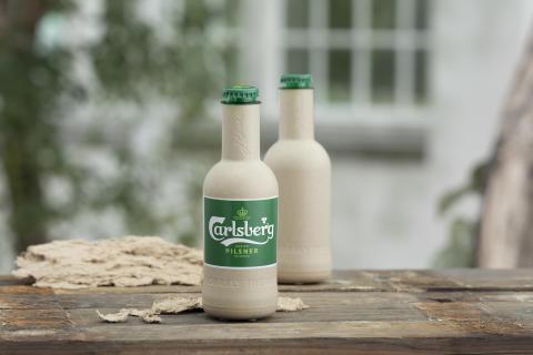 Carlsberg tar nästa steg med ölflaska i papper