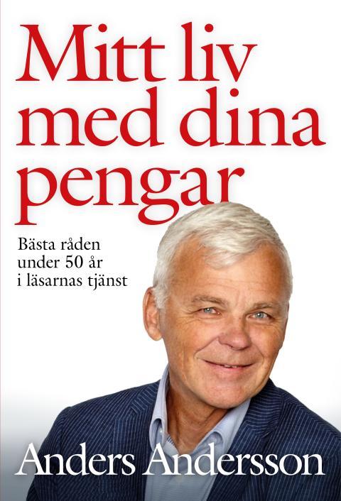Omslag till boken Mitt liv med dina pengar av Anders Andersson