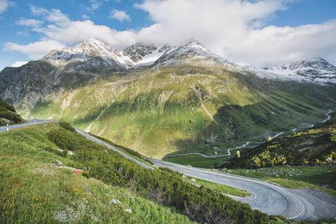 Flüelapass © Schweiz Tourismus Fotograf Nico Schaerer