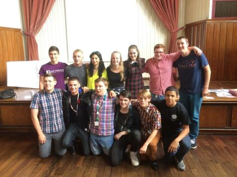 Elected Youthforia members