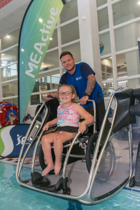Poolpod transforms access to Mid and East Antrim swimming pool