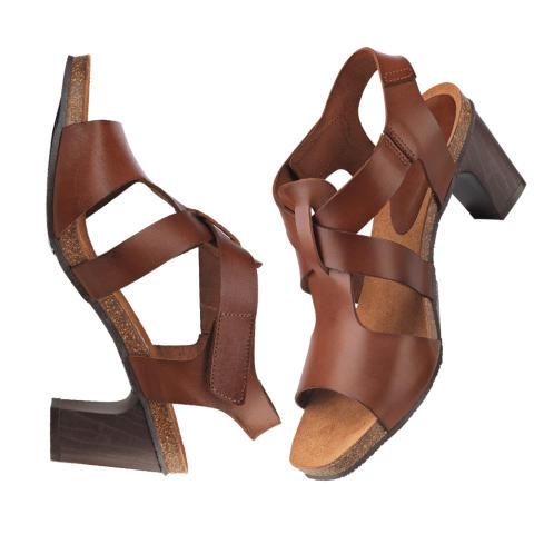 Sandalett i mjukt skinn