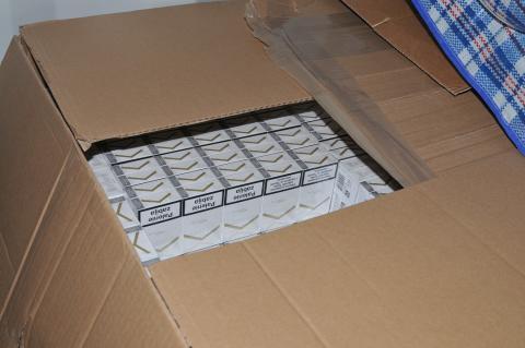 NTH 02 18 cigarettes found at storage unit 3