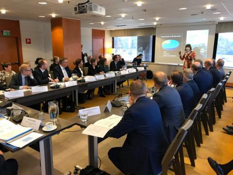 Nordiska ministrar och företagsledare i dialog kring klimatfrågan och grönt ledarskap