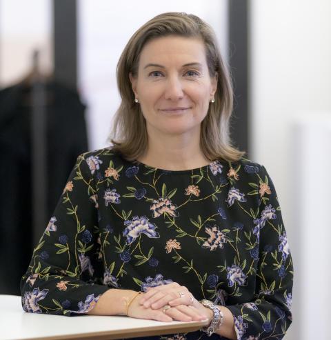 Eva Lagercrantz, ansvarig stora givare