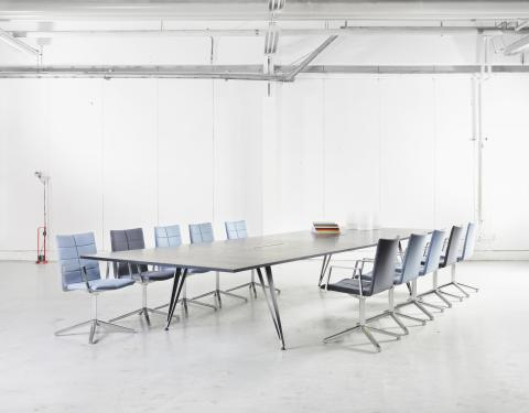 iF DESIGN AWARD TO ATTACH TABLE SERIES BY TROELS GRUM-SCHWENSEN FOR LAMMHULTS