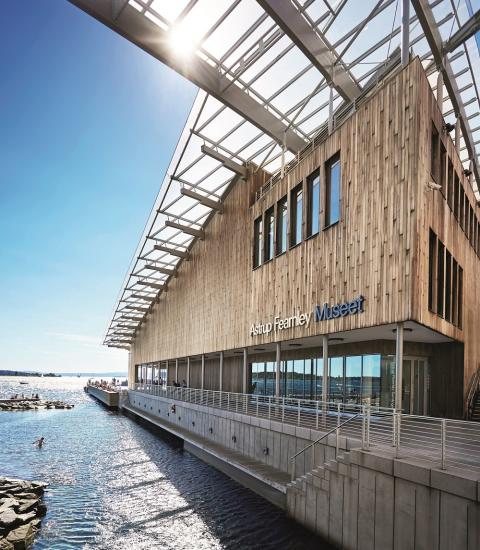 Astrup Fearnley Museum, sea view