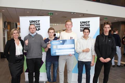 2. plass: ESU for framtiden fra Kristen vgs, Sør-Trøndelag