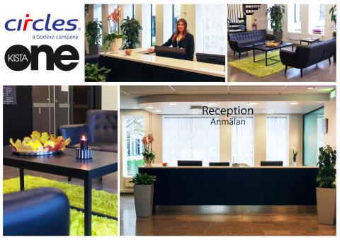 Circles öppnar upp sin andra Concierge/Reception i Areims fastighet Kista One.