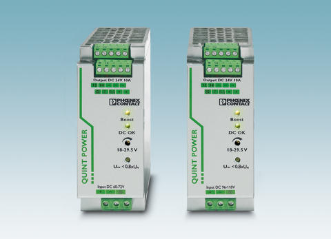 New DC/DC converters for the energy sector