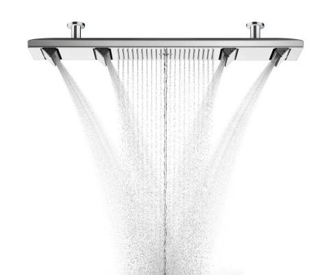 AXOR ShowerHeaven 1200 med alla stråltyper
