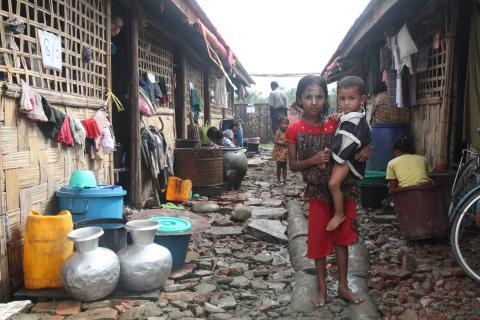 Internflyktingar i Myanmar