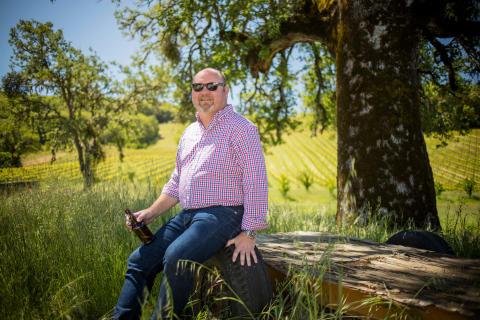 Vinmaker hos Bonterra,  Jeff Cichocki