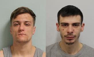 Two men jailed following burglary spree