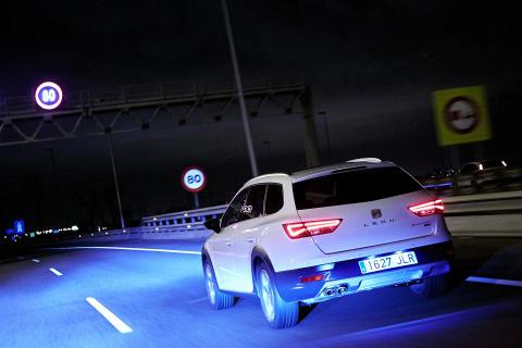 Behagelig kørsel om natten