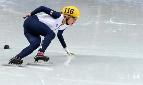 Elise Christie wins two European titles in the Netherlands to become overall European champion