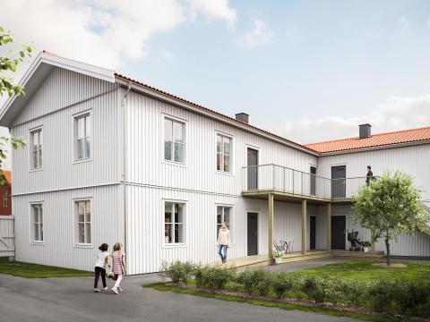 BoKlok planerar att bygga nya bostäder i Färjestaden