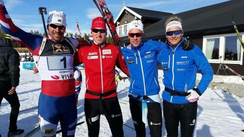 Vinnere stafett menn NM 2016