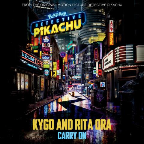 """KYGO och Rita Ora släpper singeln """"Carry On"""" från kommande filmen """"Pokèmon Detective Pikachu"""""""