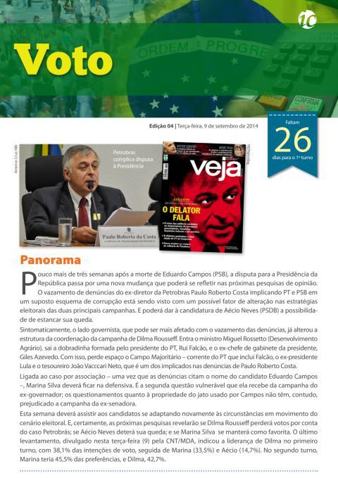 Voto #4 - Boletim das Eleições 2014