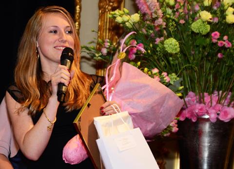 Sara Johansson – årets kvinnliga teknolog på KTH