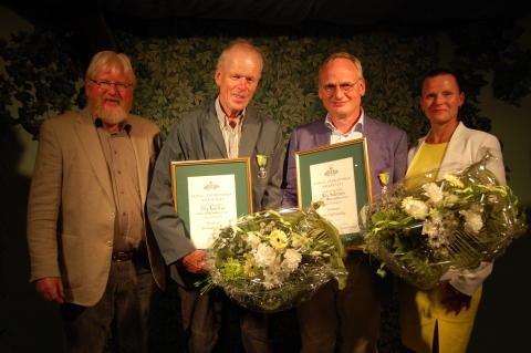 Högupplöst bild  - Kungliga Patriotiska Sällskapets trädgårdsmedaljörer 2015