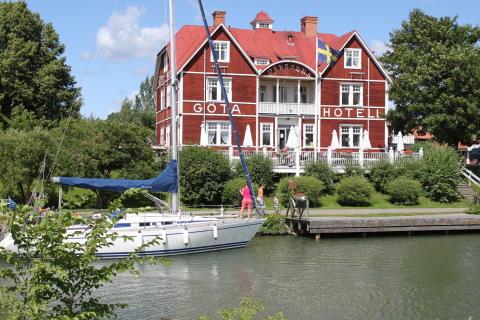 Göta Hotell + fritidsbåt
