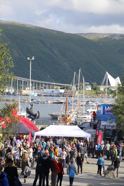 Folkefest i Tromsø