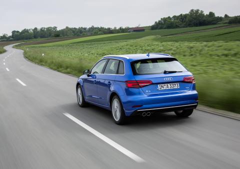 Audi A3 Sportback Ara Blue