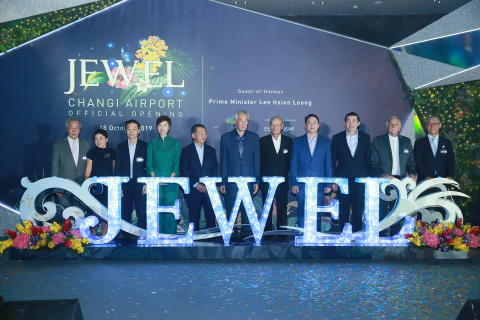 Jewel Changi Airport marks six months of operations with a grand opening celebration