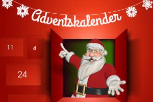 Julkalender på casinospråk