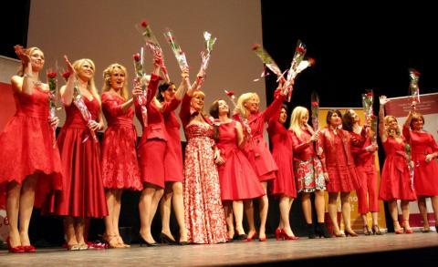 Mars månad är kvinnohjärtas månad! Välkommen till Woman in Red Stockholm!