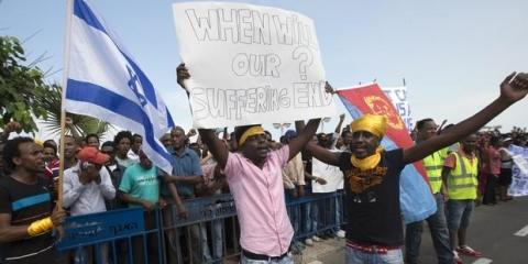 Israel: Stoppa förslag om frihetsberövande av asylsökande