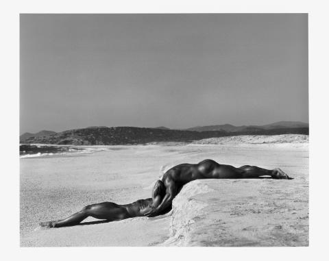 Herb Ritts - Grafisk perfektion av ikonisk modefotograf
