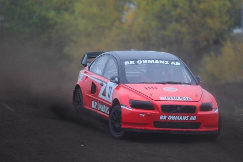 Mats Öhman klar för RallyX Supercar Scandinavia 2014