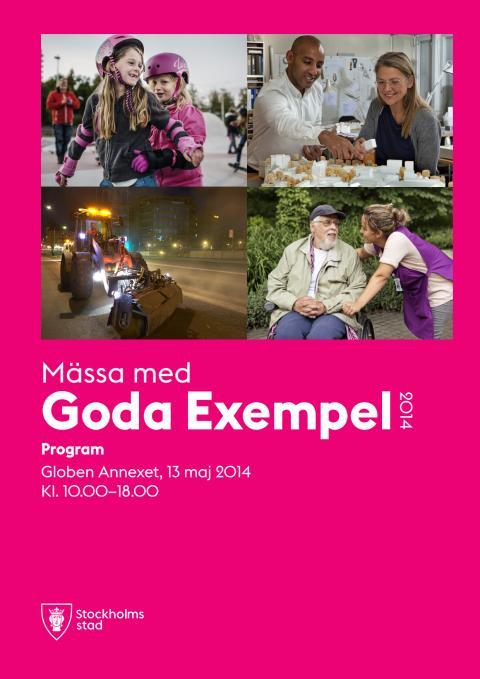 Program mässa med Goda Exempel