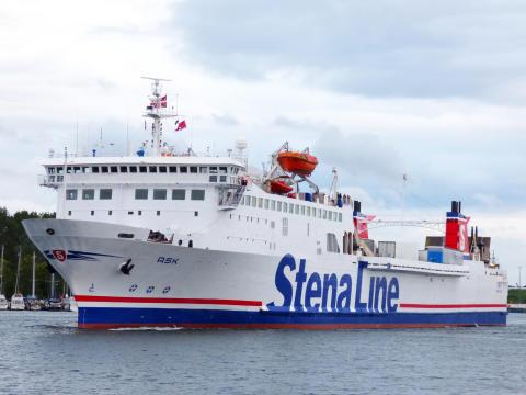Nytt fartyg förstärker Göteborg-Frederikshavn