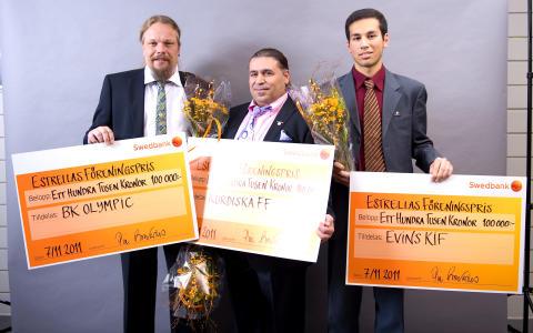Estrellas satsning gav 1 miljon till lokala fotbollsklubbar!