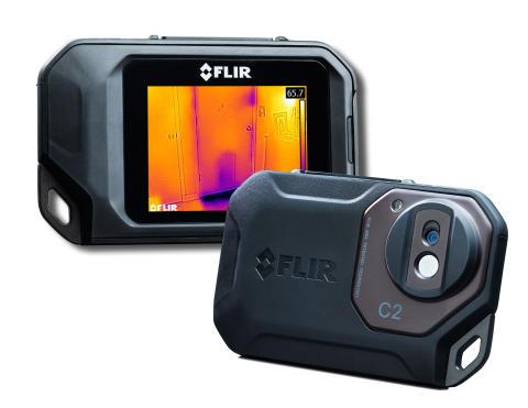 """Gewinner in der Kategorie """"Geräte und Werkzeuge"""": Kompakt-Wärmebildkamera """"C2"""" von Flir. (Abb.: Flir)"""