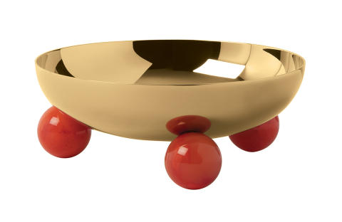 SBT_Penelope_Bowl_13,5_cm_PVD_Gold_Carnelian_Red