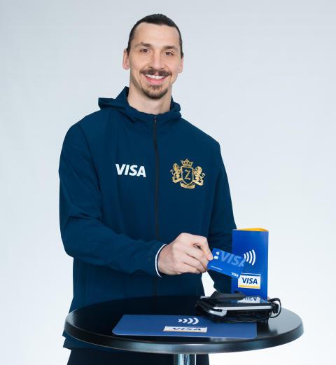 Zlatan Ibrahimović s'associe à Visa  en vue de la Coupe du Monde de la FIFA, Russie 2018™