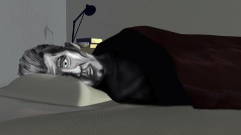 Jag skulle vilja slippa vakna ledsen...