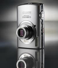 Digital IXUS 860IS med vidvinkel: för den stilmedvetne fotografen