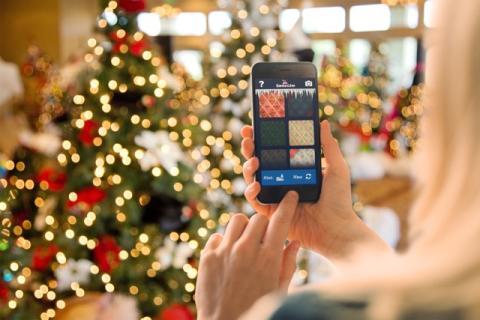 Julegavejakt på mobil aktiverer gjester ombord