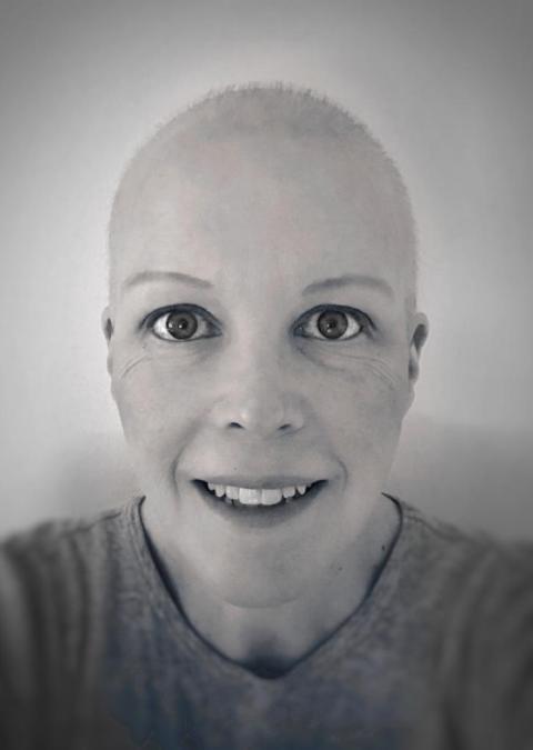 Tara during chemo